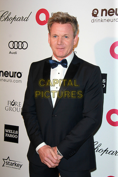WEST HOLLYWOOD, CA - FEBRUARY 22: Gordon Ramsay at the 2015 Elton John AIDS Foundation Oscar Party in West Hollywood, California on February 22, 2015. <br /> CAP/MPI/DC/DE<br /> &copy;DE/DC/MPI/Capital Pictures