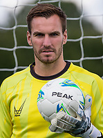 Goalkeeper Scott Brown during the PEAK Elite Sportswear Photoshoot at Wycombe Training Ground, High Wycombe, England on 1 August 2017. Photo by PRiME Media Images.