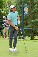 Tommy Fleetwood (ENG) watches his tee shot on 11 during Sunday's final round of the PGA Championship at the Quail Hollow Club in Charlotte, North Carolina. 8/13/2017.<br /> Picture: Golffile | Ken Murray<br /> <br /> <br /> All photo usage must carry mandatory copyright credit (&copy; Golffile | Ken Murray)