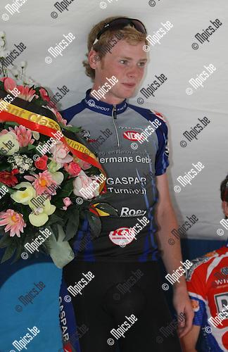2009-05-23 / Wielrennen / interclub junioren in Ruisbroek / Stef Van Zummeren won..Foto: Maarten Straetemans (SMB)