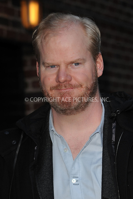 WWW.ACEPIXS.COM . . . . . ....March 23 2009, New York City....Actor Jim Gaffigan made an appearance at 'The Late Show with David Letterman' at the Ed Sullivan Theater on March 23, 2009 in New York City.....Please byline: KRISTIN CALLAHAN - ACEPIXS.COM.. . . . . . ..Ace Pictures, Inc:  ..tel: (212) 243 8787 or (646) 769 0430..e-mail: info@acepixs.com..web: http://www.acepixs.com