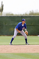 Ryan Flaherty, Chicago Cubs 2010 minor league spring training..Photo by:  Bill Mitchell/Four Seam Images.