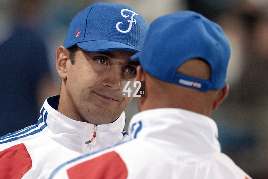 17 August 2010: Jean-Michel Mayeur of Team France is seen during the Czech Republic 4-3 win over France, at the 2010 European Championship, under 21, in Brno, Czech Republic.