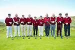 Ballybunion team at the JB Carr Final Ballybunion v Killarney at Ballybunion Golf Club on Friday. Pictured l-r Eoin O'Shaughnessy, Donal Liston, John Kinsella, Eddie Moylan, John Walsh, Vencent O'Kelly, Tom Scanlon, Brendan Daly, Nicolas Hayes, Ollie Kearns, manager