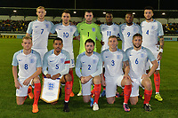 England C Squad  during Slovakia Under-21 vs England C, International Challenge Trophy Football at Mestsky Stadion on 8th November 2017