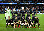 Celtic team group during the Champions League Group C match at the Etihad Stadium, Manchester. Picture date: December 6th, 2016. Pic Simon Bellis/Sportimage