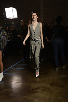 Zadig &amp; Voltaire 12/02/2018<br /> Model : Teddy Quinlivan<br /> Backstage, New York Fashion Week FW18 <br /> New York Fashion Week,  New York, USA in February 2018.<br /> CAP/GOL<br /> &copy;GOL/Capital Pictures<br /> Zadig &amp; Voltaire 12/02/2018<br /> Model : Teddy Quinlivan<br /> Backstage, New York Fashion Week FW18 <br /> <br /> New York Fashion Week,  New York, USA in February 2018.<br /> CAP/GOL<br /> &copy;GOL/Capital Pictures /MediaPunch ***NORTH AND SOUTH AMERICAS ONLY***