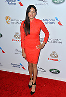 BEVERLY HILLS, CA. October 26, 2018: Tehmina Sunny at the 2018 British Academy Britannia Awards at the Beverly Hilton Hotel.<br /> Picture: Paul Smith/Featureflash