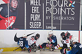 London, ON - Dec 3 2018 - Canada vs. USA during Game 2 of the 2018 Canadian Tire Para Hockey Cup at the Western Fair Sports Centre in London, Ontario, Canada (Photo: Matthew Murnaghan/Hockey Canada Images)
