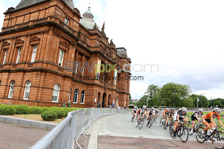 PICTURE BY ALEX WHITEHEAD/SWPIX.COM - Cycling - 2013 British Cycling National Road Race Championships - Glasgow, Scotland - 23/06/13 - Women's race.