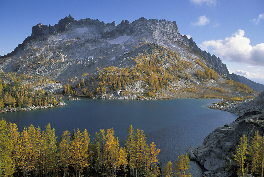 Perfection Lake & McClellan Peak, Enchantment Lakes, Alpine Lakes Wilderness, Washington