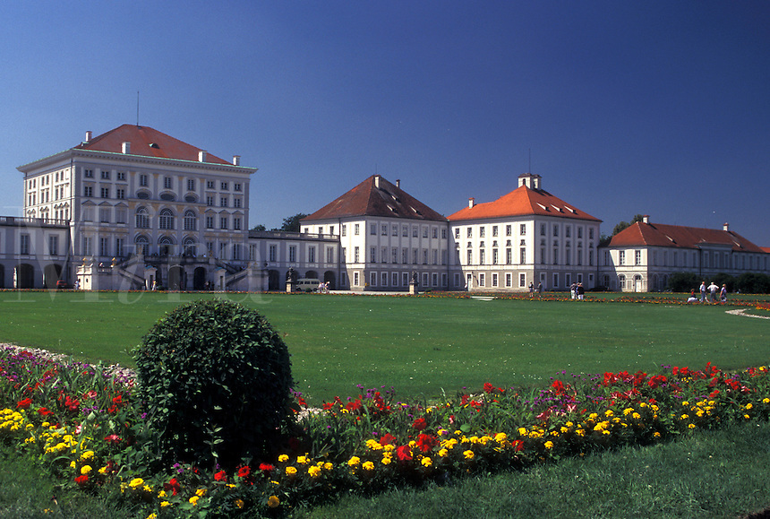 Nymphenburg Palace, Munich, Germany, Bavaria, Munchen, Europe, Schloss Nymphenburg