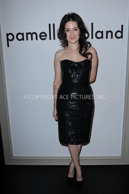 WWW.ACEPIXS.COM . . . . . .September 12, 2011...New York City.... Aleksa Palladino attends the Pamella Roland Spring 2012 presentation during Mercedes-Benz Fashion Week in The Box at Lincoln Center on September 12, 2011 in New York City. in New York City......Please byline: KRISTIN CALLAHAN - ACEPIXS.COM.. . . . . . ..Ace Pictures, Inc: ..tel: (212) 243 8787 or (646) 769 0430..e-mail: info@acepixs.com..web: http://www.acepixs.com .