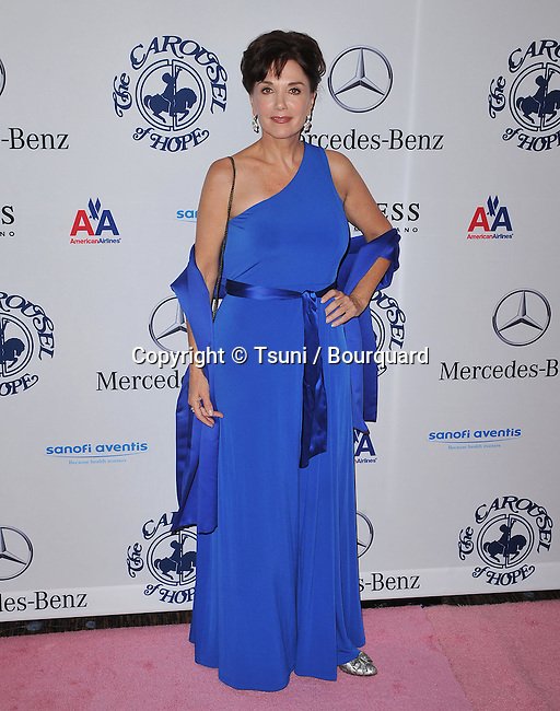Stepfanie Kramer   - Carousel Of Hope at the Beverly Hilton Hotel In Los Angeles.