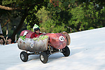 Team 趁燒緊吃  in action during the Red Bull Soapbox Race 2017 Taipei at Multipurpose Gymnasium National Taiwan Sport University on 01 October 2017, in Taipei, Taiwan. Photo by Victor Fraile / Power Sport Images