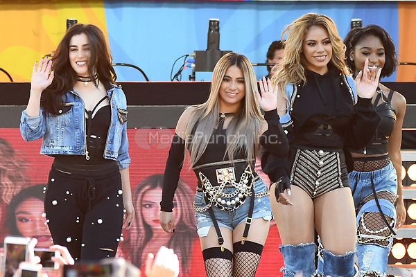 NEW YORK, NY - June 2 :Lauren Jauredu, Dinah Jane Ally Brooke and Normani Kordei of Fifth Harmony  perform at the Rumsey Playfield in Central Park for the 2017 Good Morning America Concert Series on May 26, 2017 in New York City. Photo by : John Palmer/MediaPunch