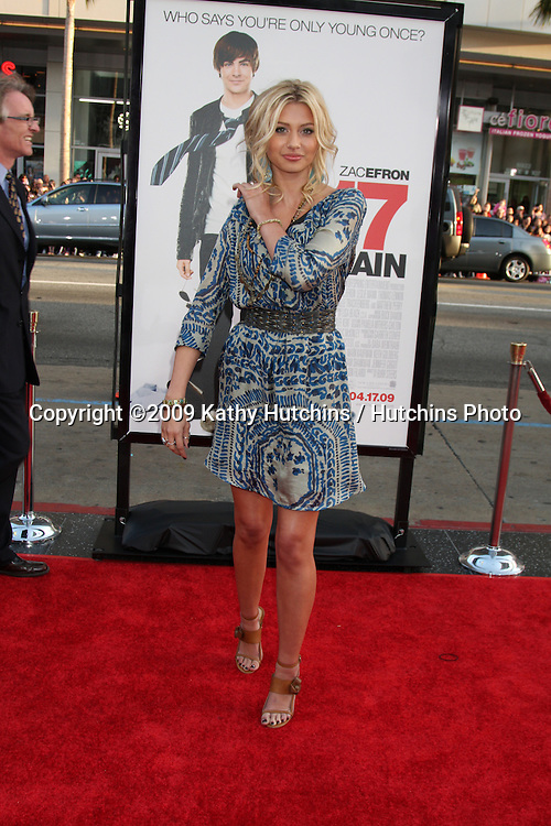 Alyson Michalka  arriving at the 17 Again Premiere at Grauman's Chinese Theater in Los Angeles, CA on April 14, 2009.©2009 Kathy Hutchins / Hutchins Photo....                .