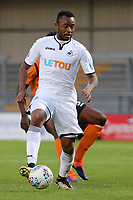 Jordan Ayew of Swansea City in action during Barnet vs Swansea City, Friendly Match Football at the Hive Stadium on 12th July 2017