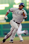 16 June 2006: Robinson Cano, infielder for the New York Yankees, in action against the Washington Nationals at RFK Stadium, in Washington, DC. The Yankees defeated the Nationals 7-5 in the first meeting of the two franchises...Mandatory Photo Credit: Ed Wolfstein Photo...