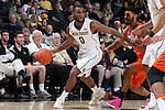 28 February 2016: Wake Forest's Codi Miller-McIntyre. The Wake Forest University Demon Deacons hosted the Virginia Tech Hokies at Lawrence Joel Veterans Memorial Coliseum in Winston-Salem, North Carolina in a 2015-16 NCAA Division I Men's Basketball game. Virginia Tech won the game 81-74.