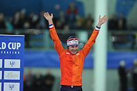 SPEED SKATING: STAVANGER: Sørmarka Arena, 31-01-2016, ISU World Cup, Podium 1000m Ladies Division A, Marrit Leenstra (NED), ©photo Martin de Jong