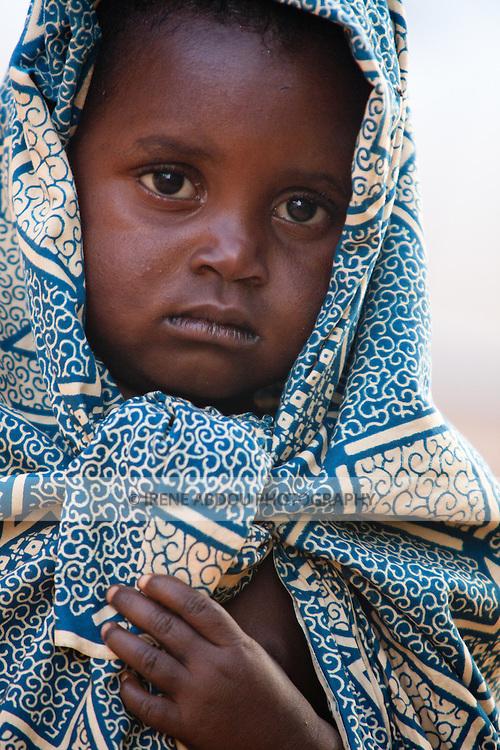 Fulani child in the town of Djibo in northern Burkina Faso.