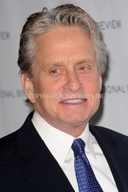 WWW.ACEPIXS.COM . . . . . ....January 12 2010, New York City....Actor Michael Douglas arriving at the National Board of Review of Motion Pictures Awards gala at Cipriani 42nd Street on January 12, 2010 in New York City.....Please byline: KRISTIN CALLAHAN - ACEPIXS.COM.. . . . . . ..Ace Pictures, Inc:  ..(212) 243-8787 or (646) 679 0430..e-mail: picturedesk@acepixs.com..web: http://www.acepixs.com