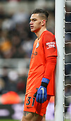 29th January 2019, St James Park, Newcastle upon Tyne, England; EPL Premier League football, Newcastle United versus Manchester City; Ederson of Manchester City looks dejected as time ebbs away