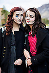 _E1_2152<br /> <br /> 1610-85 GCI Halloween Costumes<br /> <br /> October 31, 2016<br /> <br /> Photography by: Nathaniel Ray Edwards/BYU Photo<br /> <br /> &copy; BYU PHOTO 2016<br /> All Rights Reserved<br /> photo@byu.edu  (801)422-7322<br /> <br /> 2152