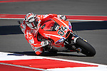 Andrea Dovizioso (4) in action during the Red Bull MotoGP of the Americas practice session at Circuit of the Americas racetrack in Austin,Texas. ..