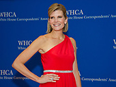 Journalist Kate Snow arrives for the 2017 White House Correspondents Association Annual Dinner at the Washington Hilton Hotel on Saturday, April 29, 2017.<br /> Credit: Ron Sachs / CNP