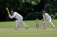 M James of Hornchurch during Hornchurch CC (batting) vs Billericay CC, Shepherd Neame Essex League Cricket at Harrow Lodge Park on 8th June 2019