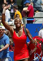 Roma 16 Maggio 2002<br /> Tennis Master Roma<br /> Sanex Wta Tour<br /> Ottavi di finale<br /> Serena Williams<br /> Roma Tennis Internazionali d'Italia 2002<br /> Foto Andrea Staccioli/Insidefoto