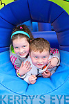 Amy and Mark Curtin from Castleisland enjoying the 25th Anniversary Crag Caves Fun Day in Castleisland on Sunday