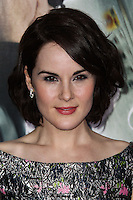 "WESTWOOD, CA, USA - FEBRUARY 24: Michelle Dockery at the World Premiere Of Universal Pictures And Studiocanal's ""Non-Stop"" held at Regency Village Theatre on February 24, 2014 in Westwood, Los Angeles, California, United States. (Photo by Xavier Collin/Celebrity Monitor)"
