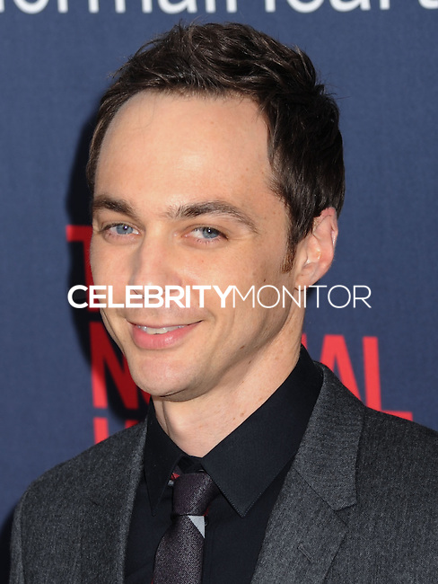 "NEW YORK CITY, NY, USA - MAY 12: Jim Parsons at the New York Screening Of HBO's ""The Normal Heart"" held at the Ziegfeld Theater on May 12, 2014 in New York City, New York, United States. (Photo by Celebrity Monitor)"