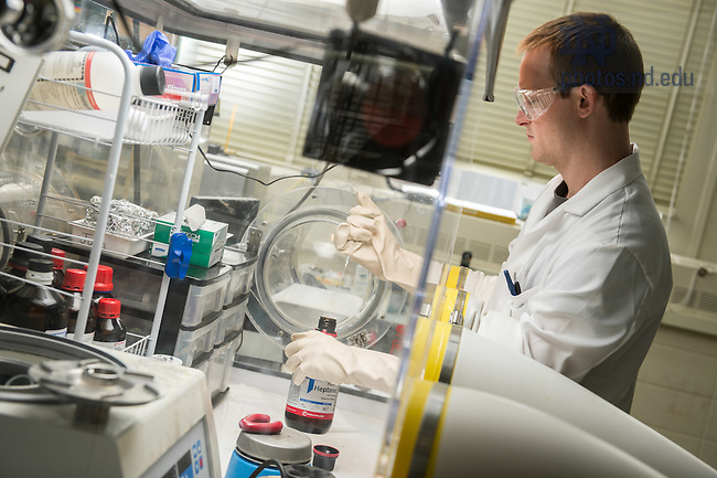 Jan. 26, 2015; Radiation Research Lab (Photo by Matt Cashore/University of Notre Dame)