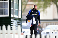 Jamie Roberts of Bath Rugby arrives at the Rec. Gallagher Premiership match, between Bath Rugby and Wasps on May 5, 2019 at the Recreation Ground in Bath, England. Photo by: Patrick Khachfe / Onside Images