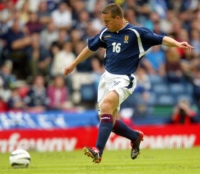 Gavin Rae, Scotland.stock season 2003-04..pic willie vass