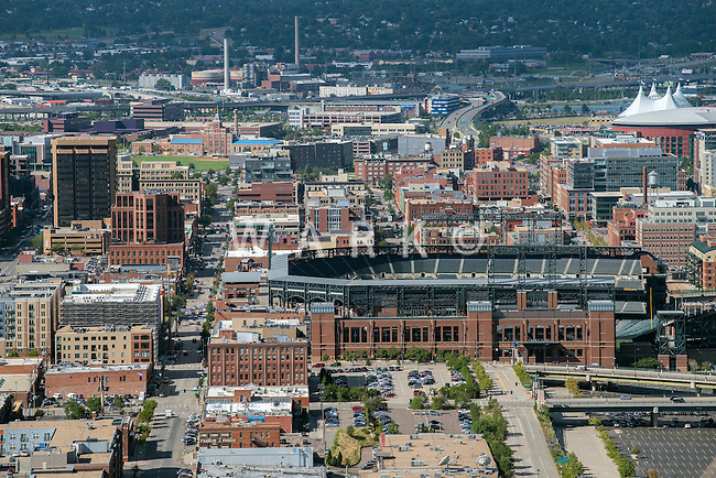 Coors Field, LODO Denver. Aug 20, 2014. 812845