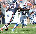 Buffalo Bills Preston Brown (52) during a game against the Chicago Bears on September 7, 2014 at Soldier Field in Chicago, IL. The Bills beat the Bears 23-20.
