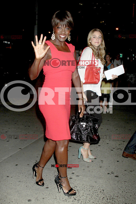 NEW YORK, NY - August 03, 2012: Viola Davis attends the screening of Won't Back Down at the NYIT Auditorium in New York City. &copy; RW/MediaPunch Inc. /NortePhto.com<br />
