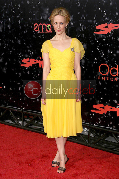 Sarah Paulson <br /> at the Los Angeles Premiere of 'The Spirit'. Grauman's Chinese Theatre, Hollywood, CA. 12-17-08<br /> Dave Edwards/DailyCeleb.com 818-249-4998