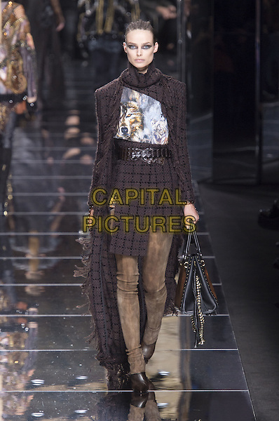 BALMAIN<br /> at Paris Fashion Week FW 17 18<br /> in Paris, France on March 02, 2017.<br /> CAP/GOL<br /> &copy;GOL/Capital Pictures