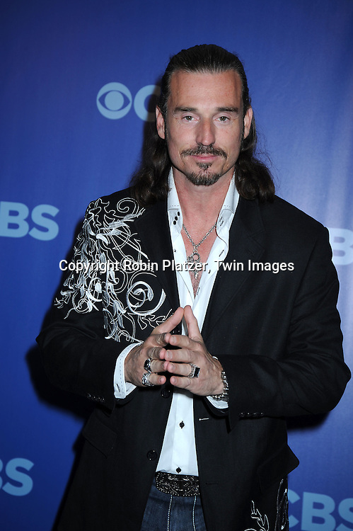 """Benjamin"""" Coach"""" Wade of """"Survivor"""" attending the CBS Network 2010 Upfront on May 19, 2010 at Lincoln Center in New York city."""