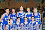 The Tralee Imperials team that played in the Division 1 ladies final on Tuesday front row l-r: Linda Raymond, Sabrina Sayers, Lisa Brennan, Emma Sherwood. Back row: Sinead Macessy, Noelle Cregan, Ashley Campbell, Aisling O'Mahony and Fiona Barry