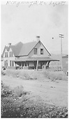 View of Ridgway depot.<br /> RGS  Ridgway, CO  Taken by Richardson, Robert W. - 9/16/1946