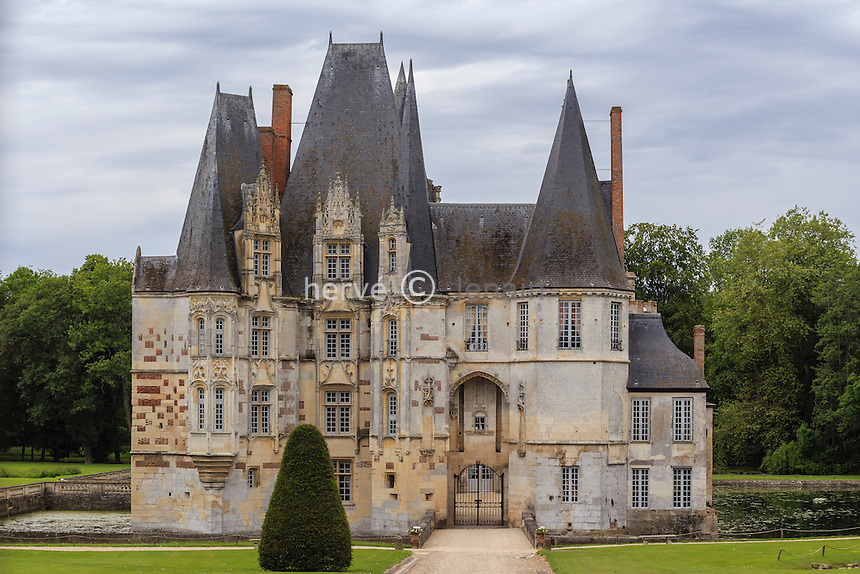 France, Orne (61), Mortrée, le château d'Ô // France, Orne, Mortree, O Castle