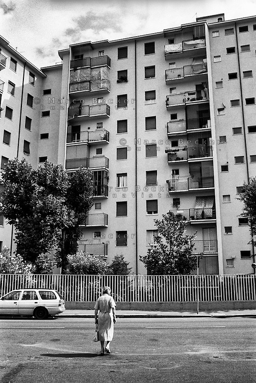 Milano, quartiere Quarto Oggiaro, periferia nord --- Milan, Quarto Oggiaro district, north periphery