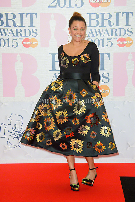 WWW.ACEPIXS.COM<br /> <br /> February 25 2015, London<br /> <br /> Gemma Cairney arriving at the Brit awards 2015 at the O2 Arena on February 25 2015 in London<br /> <br /> By Line: Famous/ACE Pictures<br /> <br /> <br /> ACE Pictures, Inc.<br /> tel: 646 769 0430<br /> Email: info@acepixs.com<br /> www.acepixs.com